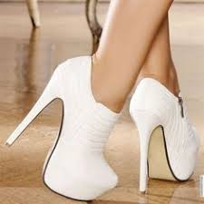 In Stock <b>Sexy White Black</b> Lace Hollow Out Peep Toe Ankle Boots ...