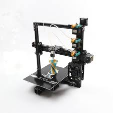 HE3D New upgrade tricolor 3 in 1 out extruder DIY 3D printer kit ...