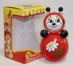 <b>Развивающая игрушка Russia Неваляшка</b> 16.5 см - Акушерство.Ru