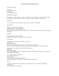 text resume format resume format 2017 wiserutips