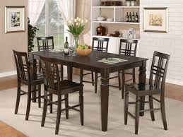 wicker bar height dining table: rectangular bar height table is also a kind of kitchen rectangular counter height dining room table