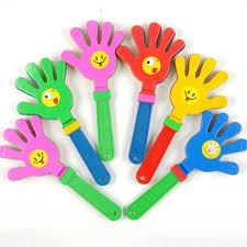 Wholesale <b>1pc</b> random <b>color Fashion Colorful</b> Hand Clapper ...