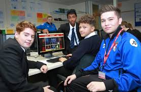 going global is the goal deep south media going global ben abberstein of afc bournemouth community trust harewood college students as they