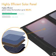 Floureon SSP - 1 21W Waterproof Foldable Solar Charger Sale ...