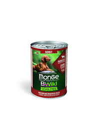 <b>MONGE</b> BWILD GRAIN FREE LAMB 400g <b>MONGE</b>.SHOP