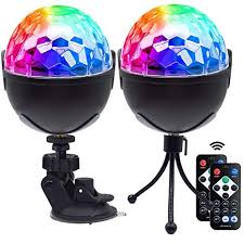 <b>Disco Ball Party Lights</b>, Sound Activated Disco Lights with Remote ...