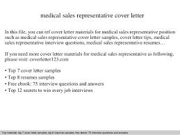 medical sales representative cover letter 1 pharmaceutical sales rep cover letter