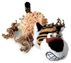 <b>Игрушка</b> для собак <b>GiGwi Dog Toys</b> Тигр (75098) — купить по ...