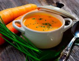 Resultado de imagem para sopa gengibre e cenoura