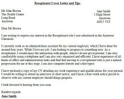 covering letter for receptionist template covering letter receptionist event planning covering application letter
