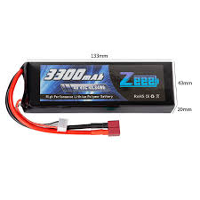<b>Аккумулятор Zeee Power</b> 4s 14.8v 3300mah 45c SOFT: купить по ...