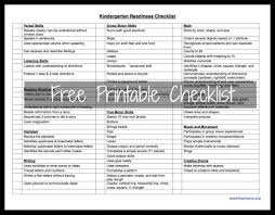 kindergarten readiness checklist teaching mama kindergarten readiness checklist printable