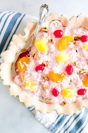 Pink Ambrosia <b>Fluff</b> Salad - Petite Southern Kitchen