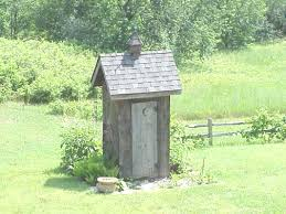 A Holly  Michigan Garden Outhouse and Outhouse PlansA Holly  Michigan Garden Outhouse