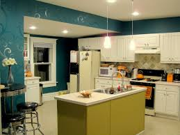 Wall For Kitchens Budget Kitchen Updates Accent Wall And Faux Painted Backsplash