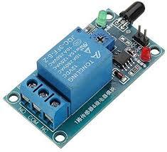 ROUHO <b>Flame Flare Detection Module</b> Flame Sensor 12V Relay ...