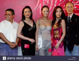 producer director fruit chan actress matsuzaka keiko actress producer director fruit chan actress matsuzaka keiko actress teresa cheung singer actress ha ri su and film director yonfan manshih pose in hong kong
