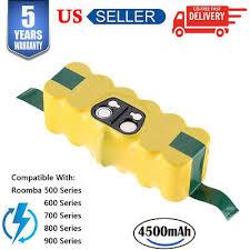 <b>14.4V</b> Battery for IROBOT ROOMBA 500 530 700 600 4.5Ah <b>Ni</b>-<b>MH</b> ...