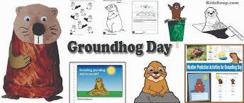 Groundhog Day Preschool and Kindergarten Activities | KidsSoup