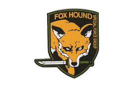 <b>Foxhound Special Forces</b> Group Sticker set of 4 Metal Gear Solid ...