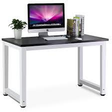 home office computer workstation. tribesigns modern simple style computer pc laptop desk study table workstation for home office black amazoncouk kitchen u0026 p