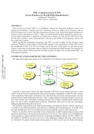 OPC evolution toward UNIX (from Windows to <b>World Wide</b> ...