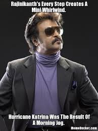 Rajinikanth's Every Step Creates A Mini Whirlwind. - Create Your ... via Relatably.com