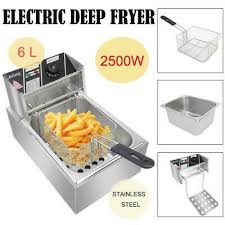 <b>Stainless Steel Commercial Household</b> Electric Deep Fryer Fried ...