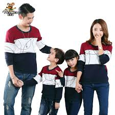 <b>Plus Size Family Matching</b> Outfits New 2019 Casual Autumn Mother ...
