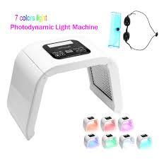 7 Color <b>PDT LED</b> Photo Face Mask Foldable Omega <b>Light Skin</b> ...