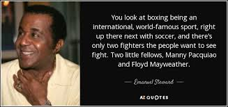 TOP 10 QUOTES BY EMANUEL STEWARD | A-Z Quotes via Relatably.com