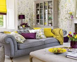 nice minimalist design of the wallpaper for walls living room that has grey sofas can add the beauty inside the modern living room design ideas that nice attractive modern living room furniture uk