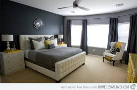 yellow and gray bedroom: master bedroom  michelle master bedroom