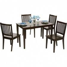 4 chair kitchen table: contemporary shaker style dining table and set of  chairs sturdy
