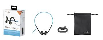 <b>Sportz Titanium</b> with mic-Wired Bone Conduction Headphones ...