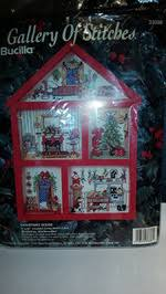Gallery <b>of Stitches</b> Bucilla, Christmas House, 7 X 10 Counted Cross ...