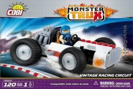 """Пластиковый <b>конструктор COBI</b> """"<b>Vintage Racing</b> Circuit"""" с фигуркой"""