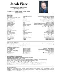 resume jacob fjare click here for a digital copy of jacob s headshot and resume