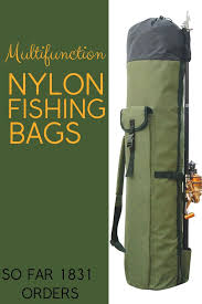 <b>Fishing Portable Multifunction</b> Nylon <b>Fishing</b> Bags <b>Fishing</b> Rod Bag ...