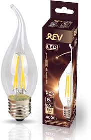 <b>Лампа</b> светодиодная <b>REV Deco Premium</b> Filament FC37 ...
