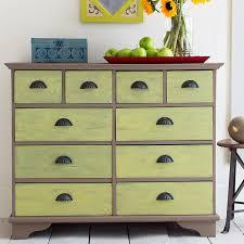 painted dresser contrasting colors chalk paint colors furniture ideas