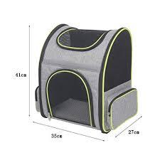 <b>Pet</b> Supplies <b>New</b> Gray <b>pet Backpack cat Dog Backpack</b> Portable ...