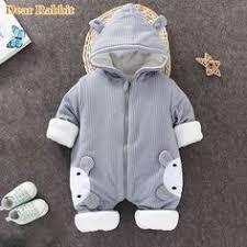 <b>2019 Autumn</b> Winter coat Jumpsuit <b>Baby</b> clothing <b>Newborn</b> ...