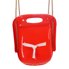 High Back Infant Swing Wide Seat <b>Belt Toddler Child Kid</b> Outdoor ...