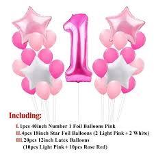 Baby 1st Birthday <b>Paper Banner</b> Blue Pink <b>Happy Birthday</b> Party ...