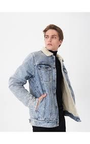 Утепленная <b>джинсовая куртка</b>, HOUSE, VY000-55J