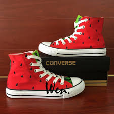 <b>Wen</b> Hand Painted <b>Shoes</b> Custom Converse All Star Canvas ...