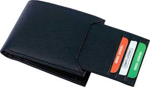 SAMTROH Men Casual <b>Black Artificial Leather</b> Wallet BLACK - Price ...