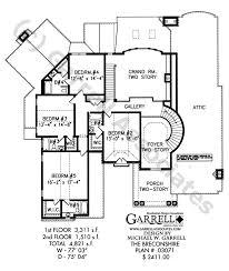 Breconshire House Plan   Classic Revival Plans    breconshire house plan   nd floor plan