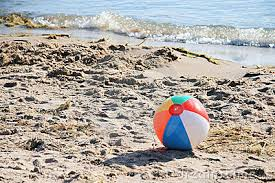 Image result for beach balls on the beach